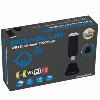 GigaBlue USB 3.0 WiFi Stick 1200Mbit Dual Band 2,4/5GHz...