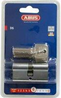 ABUS Türzylinder D6 N 30/40 B mit 3 Schlüsseln...