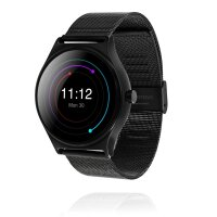 GoClever Fit Watch ELEGANCE Smartwatch Fitness Uhr Metallarmband Android iOS