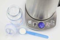 CASO WK2100 compact Wasserkocher mit Temperatureinstellung 2200W 1,2L Edelstahl