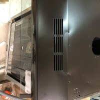 Siemens LU63LCC40 iQ100 Unterbau-Dunstabzugshaube Abluft Umluft 60cm LED Braun
