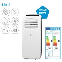 Suntec Transform 10.500 Eco R290 Mobile Klimaanlage 6in1...