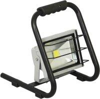 XQ-lite LED Baustrahler Fluter Gestell Tragegriff Gitter...
