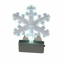 Näve 567523 LED Deko-Fensterbild Schneeflocke...