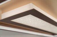 Fischer&Honsel Bug Premium LED Deckenleuchte110X40 Gold/Rostfarben Fernbedienung