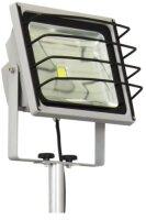 XQ-lite LED Baustrahler Fluter Stativ Gitter IP65 50W...