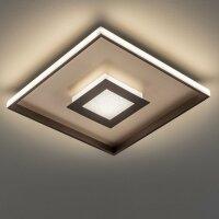 Fischer&Honsel Bug Premium LED Deckenleuchte 60X60...