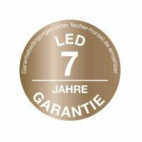 Fischer&Honsel Bug Premium LED Deckenleuchte 60X60 Gold/Rostfarben Fernbedienung