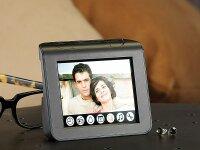 auvisio 5in1 Multimedia-Radiowecker mit Uhr, Kalender,...
