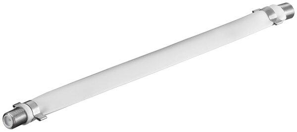Sat-Fensterdurchführung Länge 0,2 m, Weiss