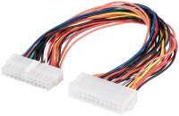 Internes PC Stromkabelverlängerung 24 Pin Stecker...