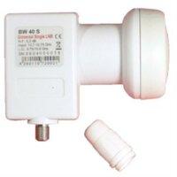 Bauckhage BW 40 S Universal Single Lnb, 40 mm Feed 0,2 db...