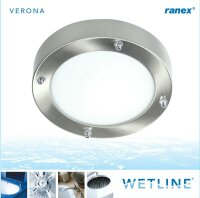 Ranex Verona Wetline Deckenleuchte Badezimmer Lampe G9...