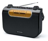 Muse M-52R Radio MW/FM/LW/SW-Tuner,...