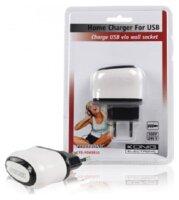 KÖNIG USB Ladegerät für Handy,...