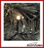 Innen und  Aussen LED Lichterkette Weihnachtsbaum kette...