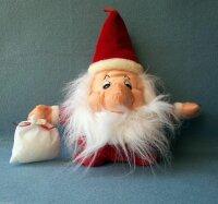 3 x Weihnachtsmann Plüschtier, Baumschmuck mit...