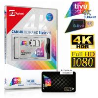 TivuSat 4K ULTRA HD Mediaset Telesystem Smart Card inkl....