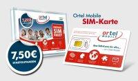 Ortel OrtelMobile Prepaid SIM-Karte inkl 7,50 Guthaben...