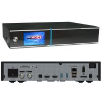 GigaBlue QUAD 4K DVB-S2 FBC Twin-Tuner + DVB-C/T2 UHD Sat...