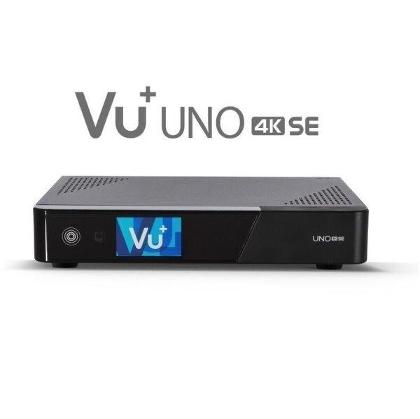 VU+ UNO 4K SE FBC Twin-Tuner UHD Sat Receiver HDTV DVB-S2 USB LAN E2 Ultra-HD