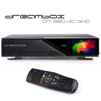 Dreambox DM920 UHD DUAL TWIN TUNER PVR Sat Receiver 4K...